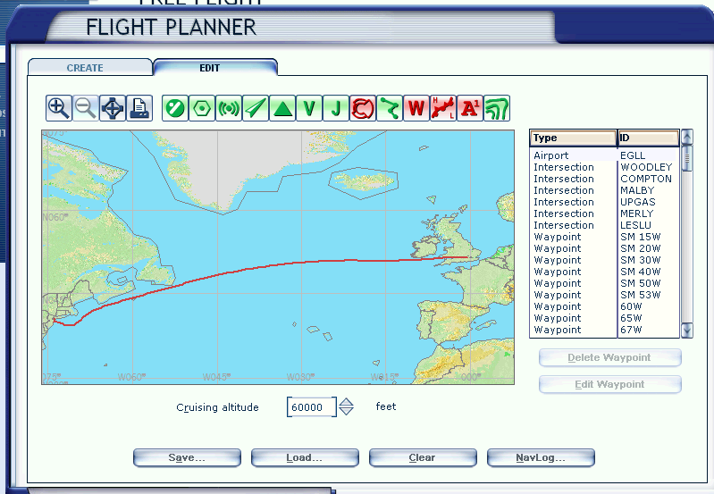 how to create a flight plan in fsx
