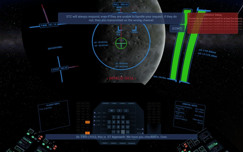 RogueSystemSim HUD View