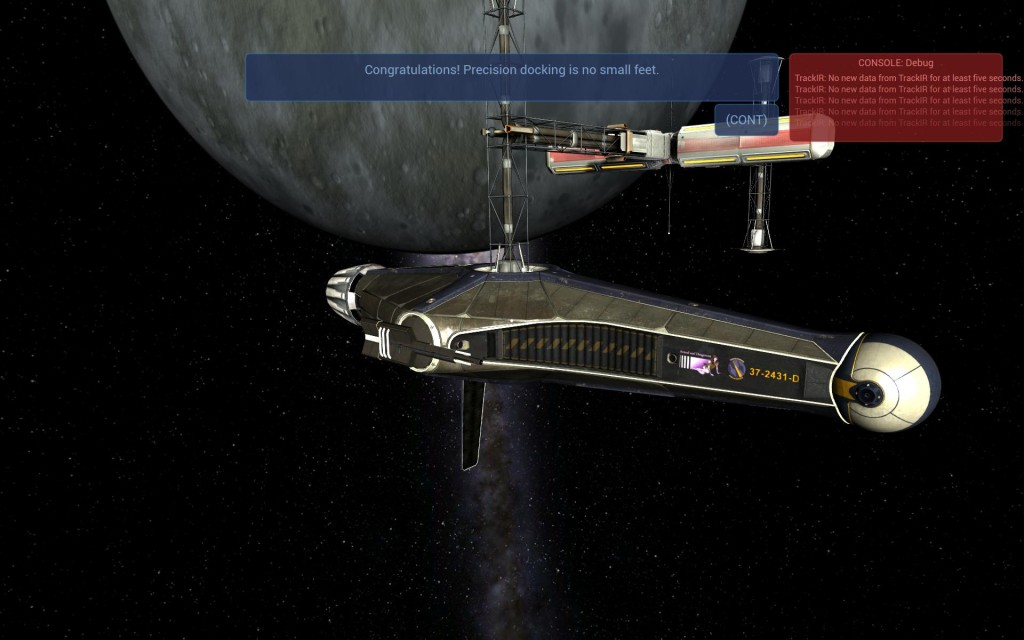 RogueSystemSim docking