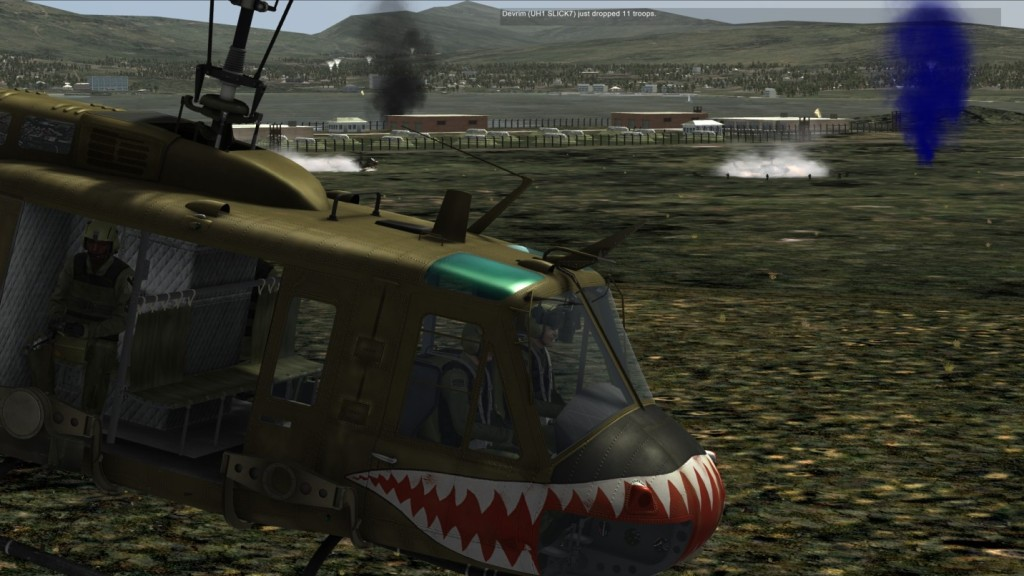 The battle rages on near the outskirts of the Airfield