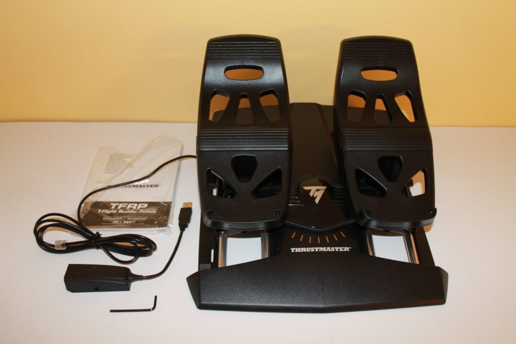 Thrustmaster T Flight Hotas 4 and Rudder Pedals – Overview and