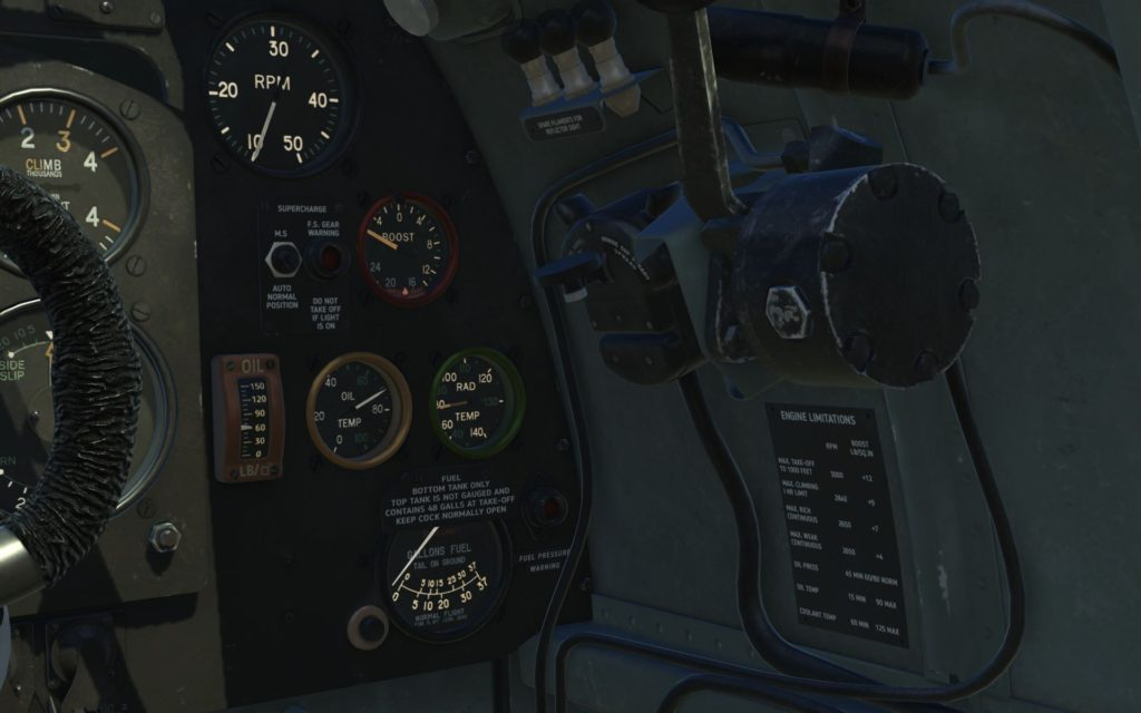 cockpit - front right