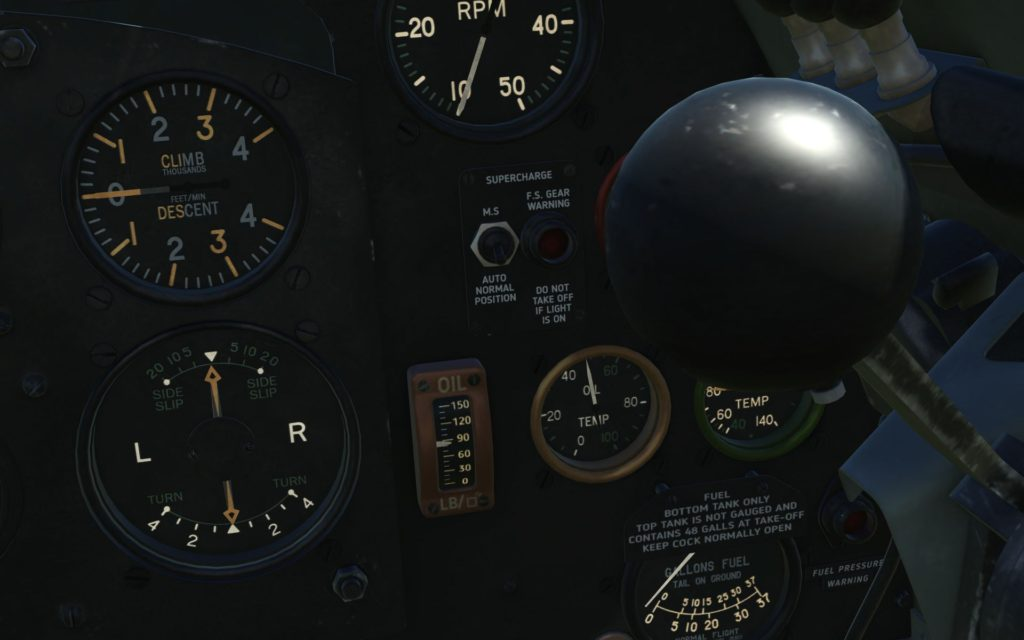 cockpit - gauges close