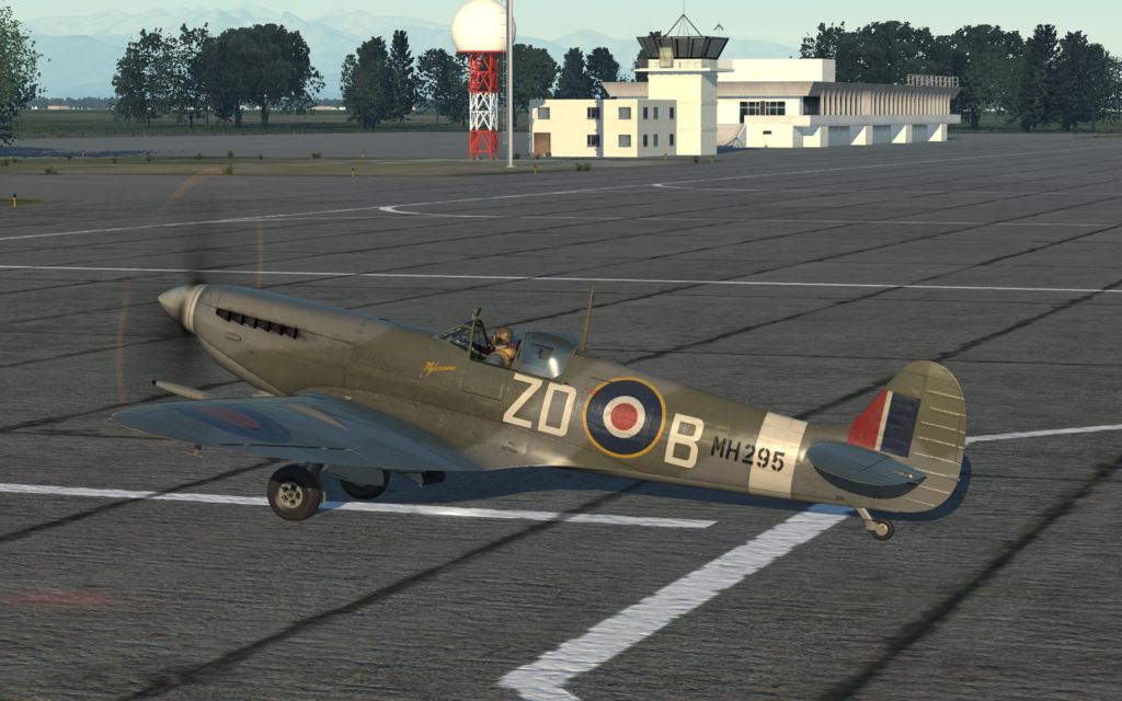 taxiing out
