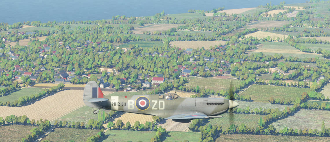 Preview of DCS: Normandy 1944 and WWII Assets Pack | Mudspike